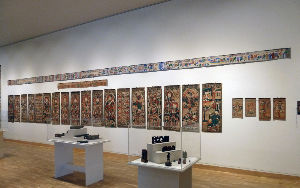 """""""The Art of the Shaman in Vietnam and Southern China,"""" continuing through March 21 at the Bates College Museum of Art in Lewiston, features some 350 painted scrolls, masks, robes and other sacred objects of Yao and Tay Shamans."""