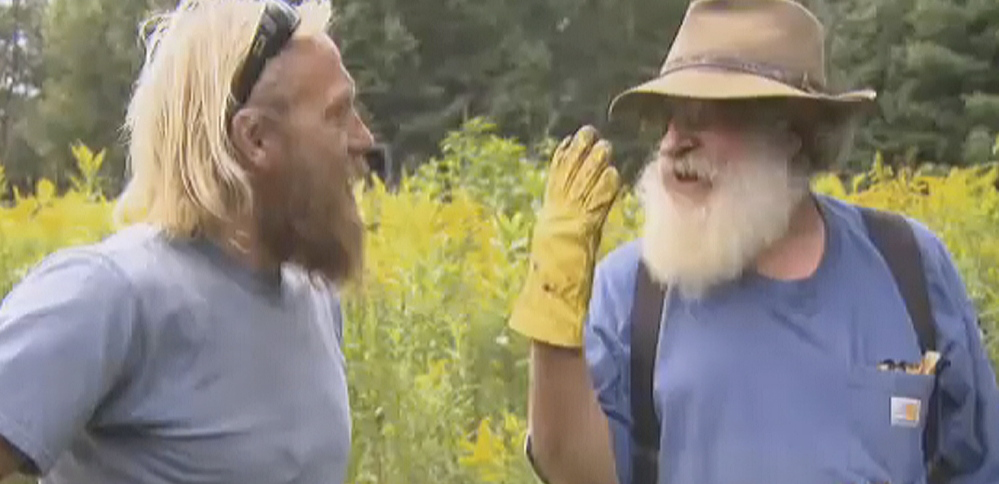 """A screen shot from a promotional video shows a scene from """"Down East Dickering,"""" the latest Maine-based reality TV show, which premieres April 2."""