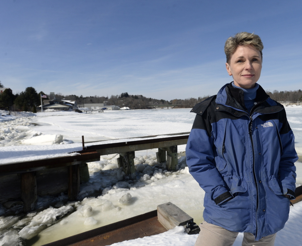 Deborah Delp, who owns Yankee Marina in Yarmouth, is hoping a $2.5 million federal dredging project makes the Royal River more navigable.