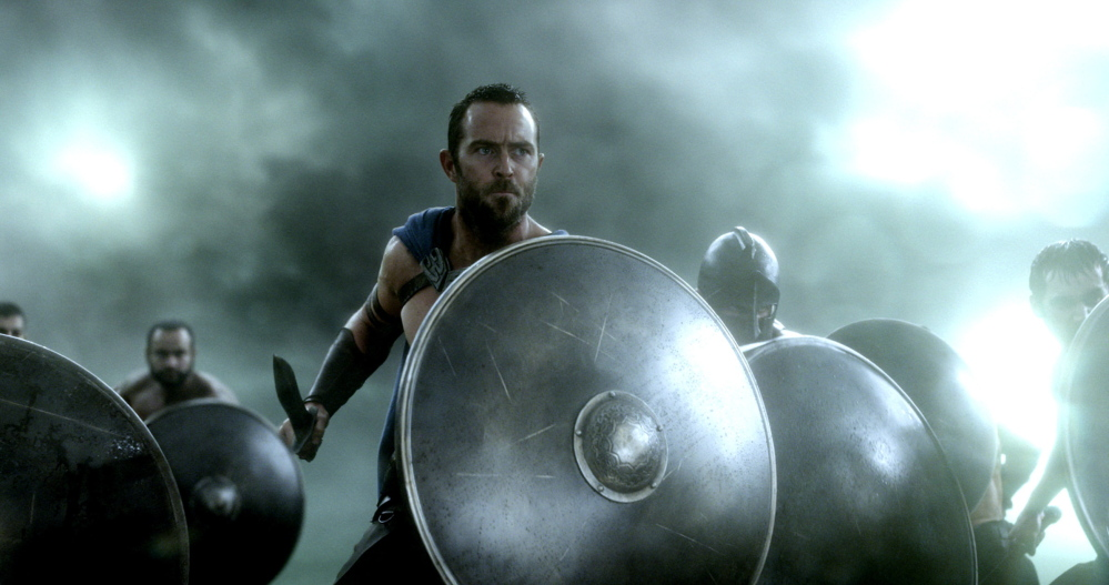 "Sullivan Stapleton is Greek general Themistokles in ""300: Rise of an Empire."""
