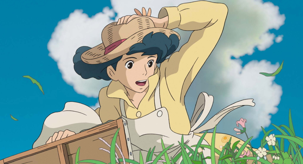 """A scene from the animated film, """"The Wind Rises."""""""