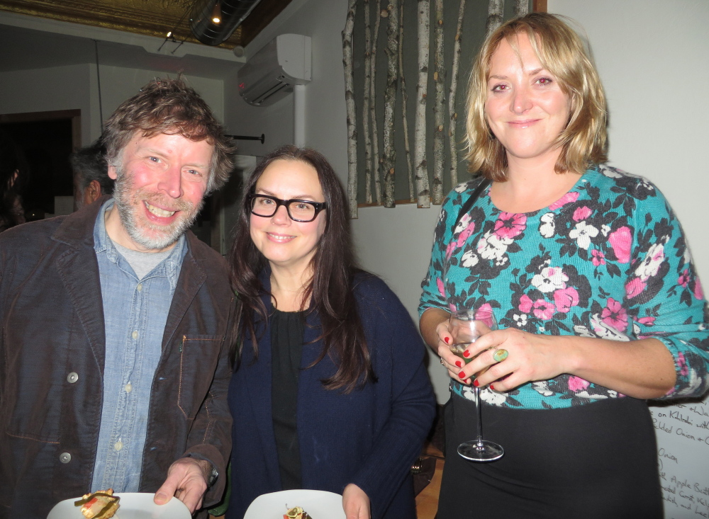 Patrick Moore and Michele Michael of Dresden, with Heather Chontos of Portland.