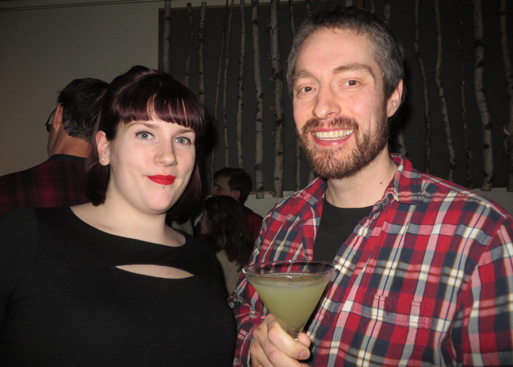 Katie Cardoza and Dan Stokes of Portland raved about the unique cocktail specials.