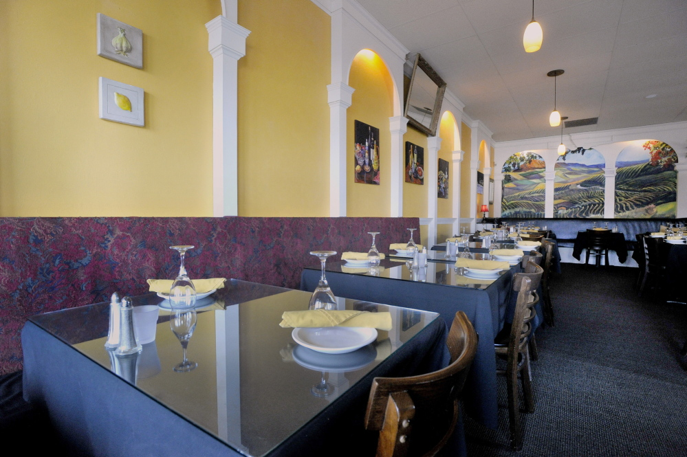 Hugs Italian Restaurant is a deservedly popular destination with locals along the Route 1 corridor in Falmouth.