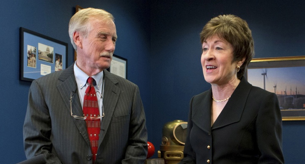 Maine Sens. Angus King, an independent, and Susan Collins, a Republican, hold two of the 15 seats on the Senate Intelligence Committee, which prepared the report about CIA interrogation techniques used against suspected terrorists – albeit before either was a member.