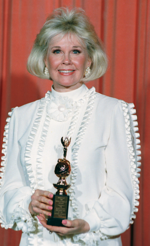 Doris Day, shown in 1989, is celebrating her birthday with an auction to benefit animals.