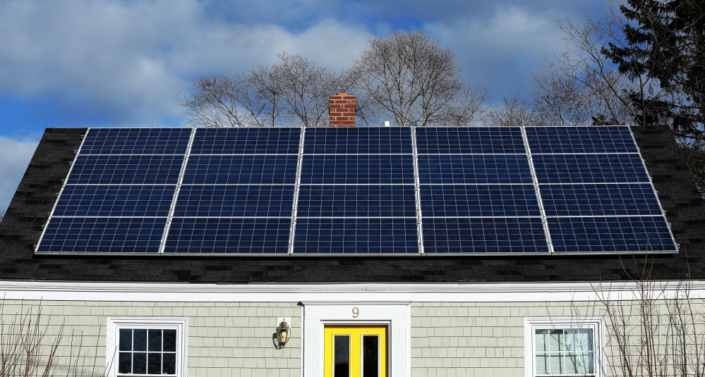 Our view cmp fee hike undercuts renewable energy push for Solar energy portland