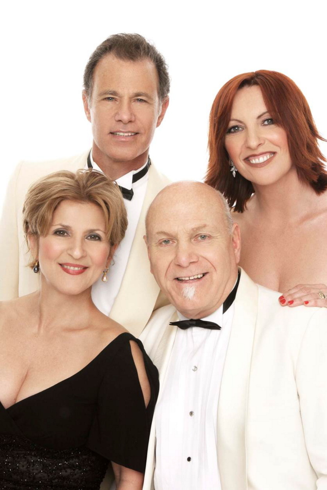 Janis Siegel, Alan Paul, Tim Hauser and Cheryl Bentyne of The Manhattan Transfer.