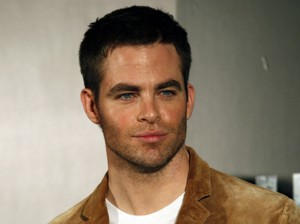 "Actor Chris Pine attends a press conference for ""Star Trek Into Darkness"" in this Dec. 4, 2012 file photo. In addition to playing Capt. James T. Kirk, Pine also played Jack Ryan in the movie ""Jack Ryan: Shadow Recruit."""
