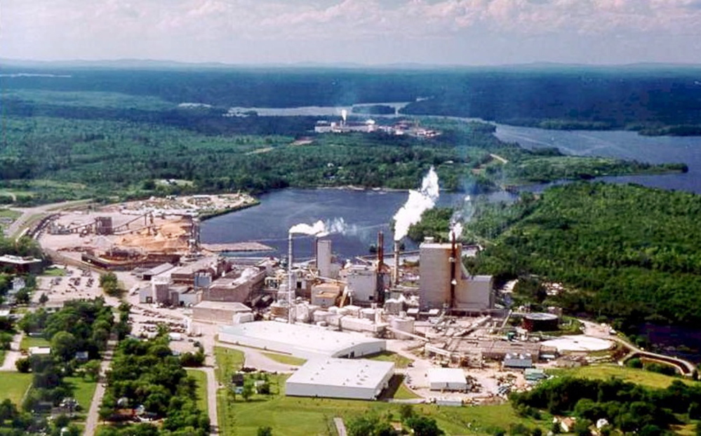 """The parent company of Woodland Pulp Mill, above, has announced it will invest $120 million in two tissue machines there. The project is expected to create 80 """"good jobs, with good pay."""""""