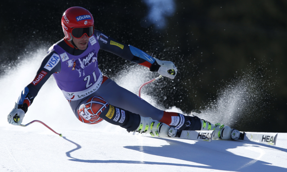 Bode Miller hit speeds up to 63.3 mph Thursday at a World Cup super-G in Switzerland, but errors cost him a victory, leaving him frustrated and worn out. But the 36-year-old says that while he's had it for now, he could be ready to resume racing next season.