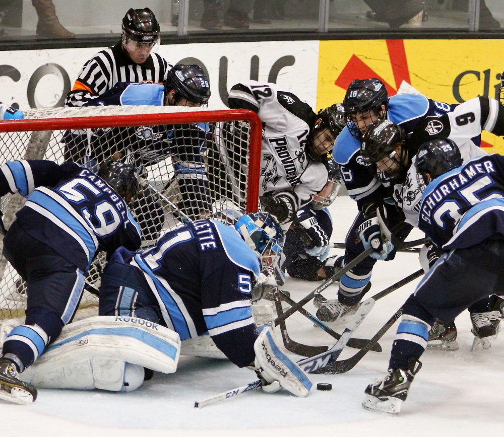 Hockey East playoffs: Maine falls in Game 1 of quarterfinals