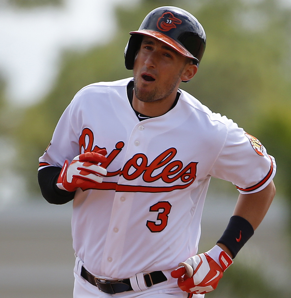 Ryan Flaherty, who played for Deering High, has played every infield position and two outfield spots for the Baltimore Orioles, making him valuable for the team.