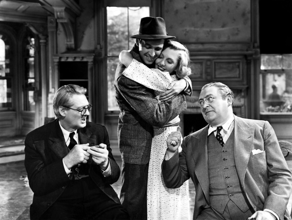 """Frank Capra's """"You Can't Take It with You"""" will be shown for free at the Patten Free Library in Bath on Tuesday."""