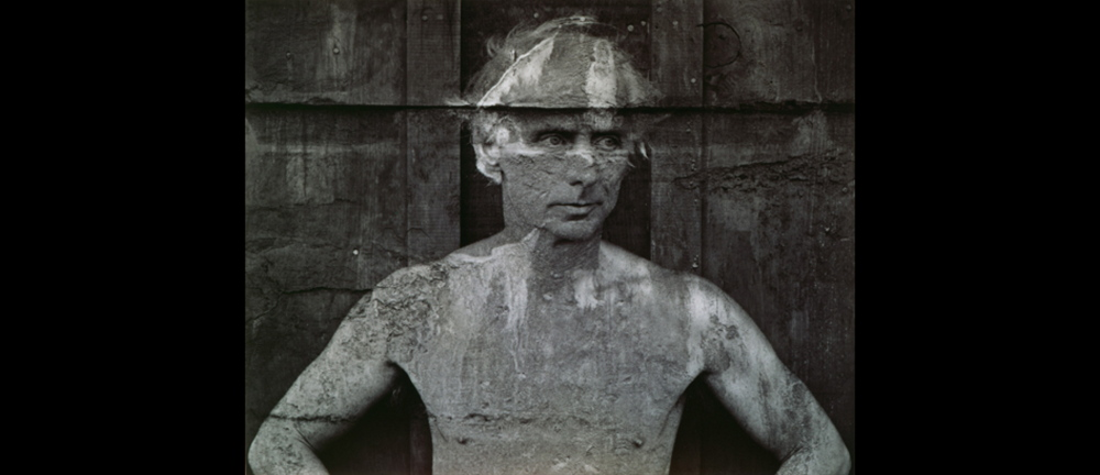 """Max Ernst, 1946,"" by Frederick Sommer, is part of the ""Under the Surface: Surrealist Photography"" exhibition at the Bowdoin College Museum of Art in Brunswick."
