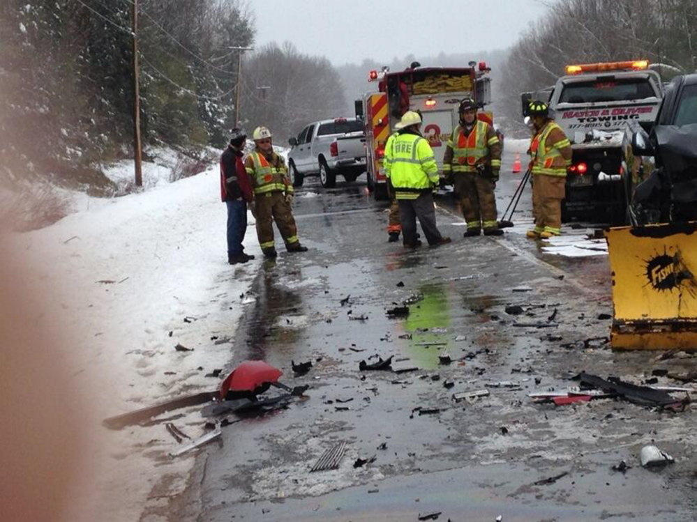 A section of U.S. Route 202 was closed briefly Thursday morning, immediately after the fatal collision.