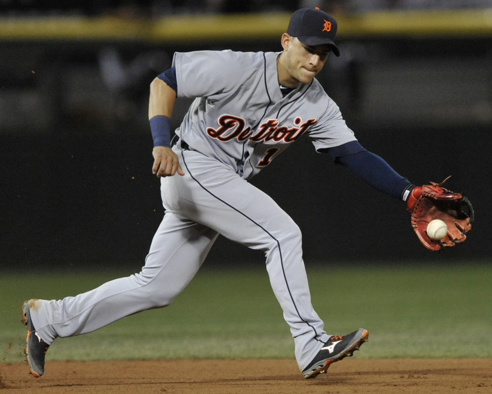 Jose Iglesias of the Detroit Tigers, a former Portland Sea Dog, will be sidelined for as much as six months because of stress fractures in both legs.