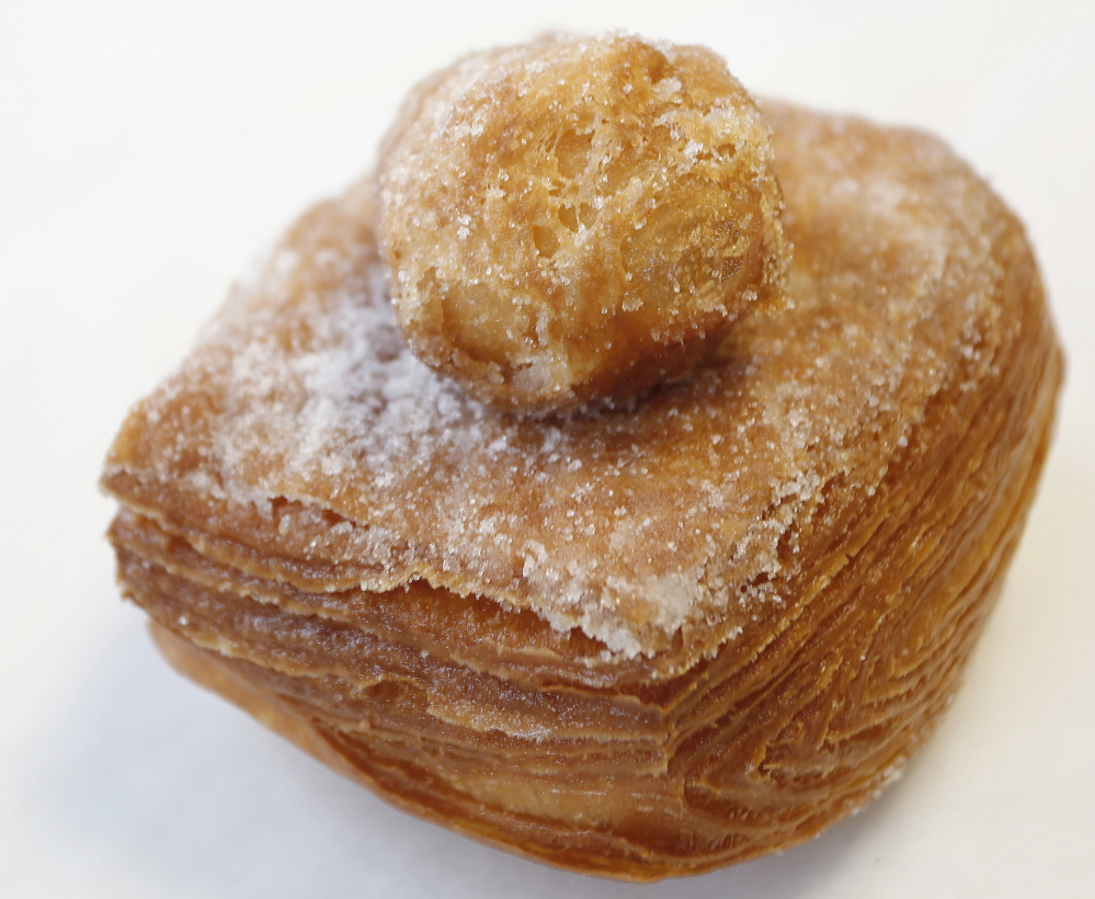 "The pastry formerly known as the ""Crauxnut"" was renamed after a cease and desist order from the creator of the ""Cronut."""
