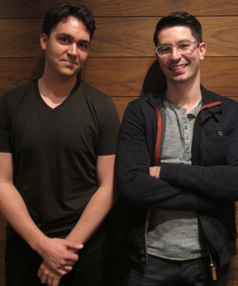 David Byttow, left, and Chrys Bader-Wechseler co-founded Secret, a new app that lets people share anonymous messages with their friends and friends of friends.