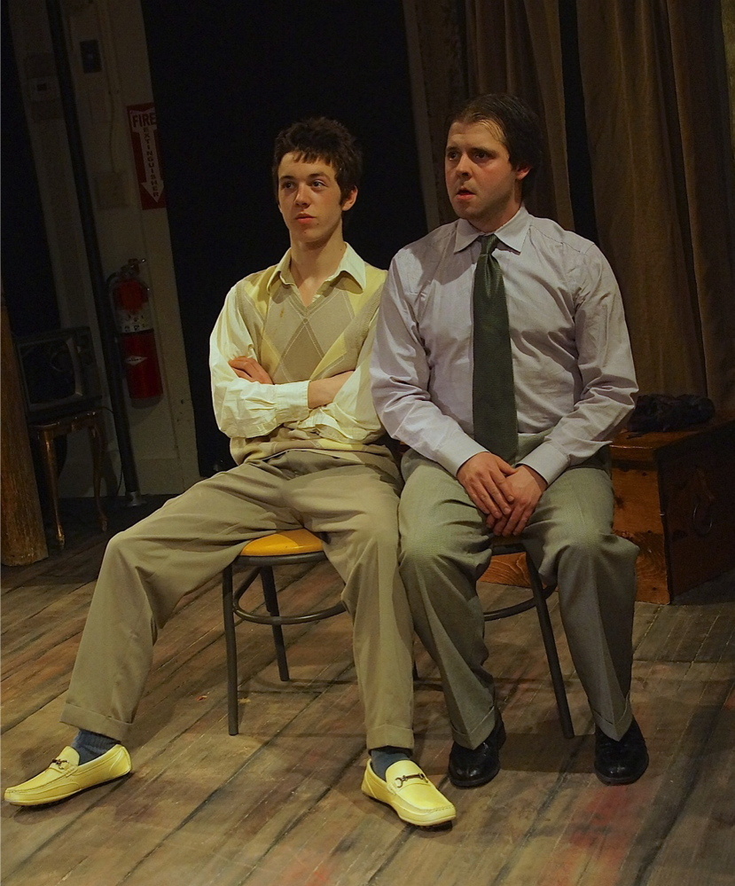 "The Mad Horse Theatre Company's production of ""Orphans"" runs through Sunday at the Hutchins School in South Portland."