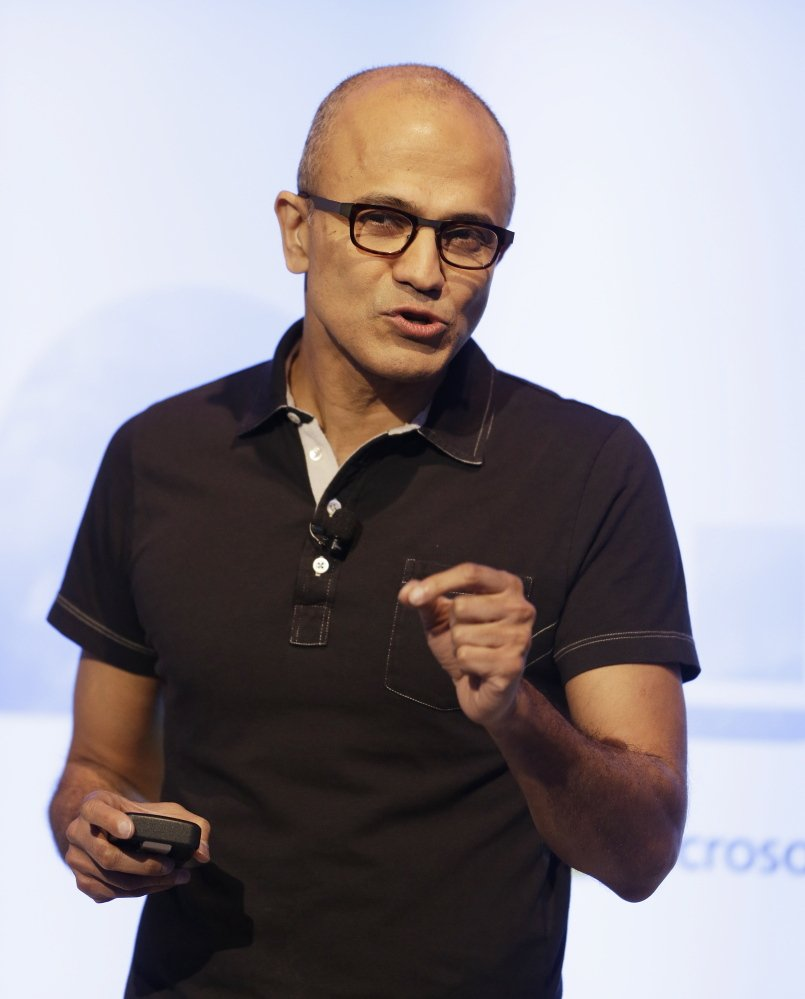 Satya Nadella says he feels rejuvenated since taking over as the CEO of Microsoft.