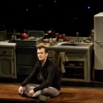 """Garrett Zuercher plays Billy, a deaf man born to a hearing family, in """"Tribes."""" He says the play will expose hearing members of the audience to a deaf culture they know little about. """"Deaf people are blunt, and they are that way to help each other because they don't get that help from hearing people,"""" he said."""