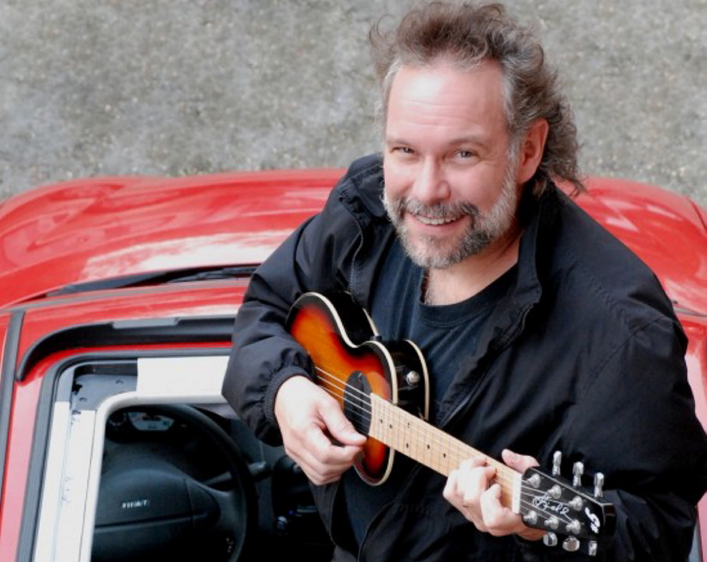Singer-songwriter John Gorka is at the St. Lawrence Arts Center in Portland on April 6.