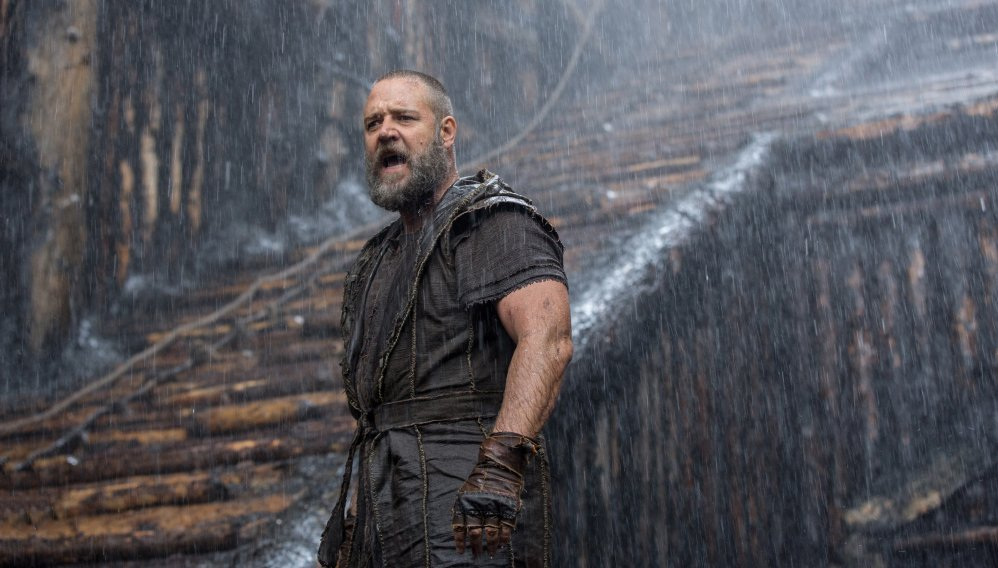 """This image released by Paramount Pictures shows Russell Crowe in a scene from the biblical epic """"Noah."""""""