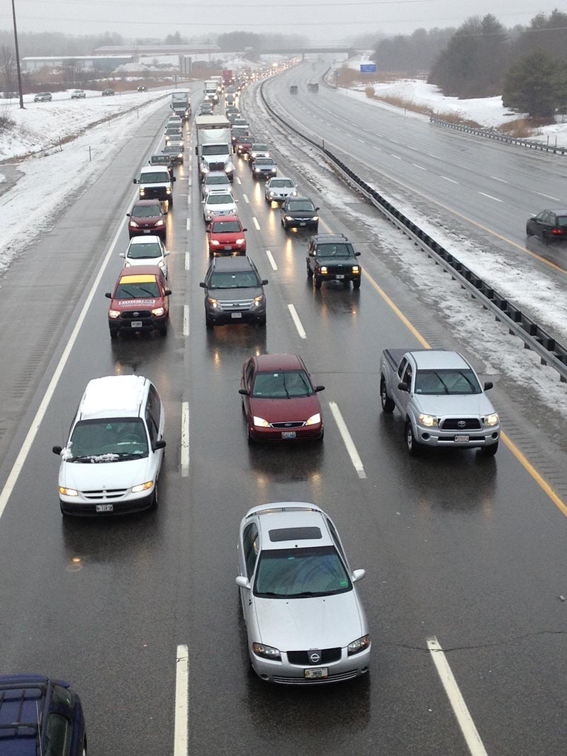 Slush accidents slow morning commute in southern maine for Southern maine motors service