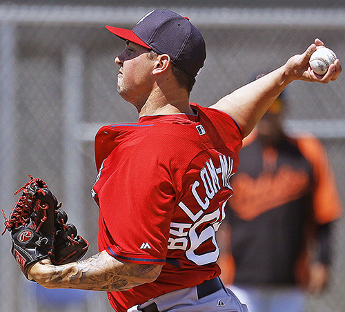 A rising prospect when the Red Sox obtained him in 2010, Chris Balcom-Miller hopes to overcome arm trouble and land a roster spot, but he'll likely begin 2014 in Portland.