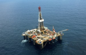 An offshore oil platform owned by Shell Oil sits in the Niger Delta. Maine Gov. Paul LePage has joined a coalition of governors supporting offshore drilling and exploration for oil and natural gas.
