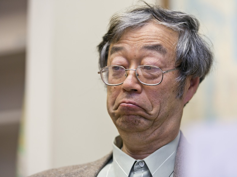 Dorian S. Nakamoto listens during an interview with the Associated Press on Thursday in Los Angeles. Nakamoto, the man Newsweek claims is the founder of Bitcoin, denies he had anything to do with it.