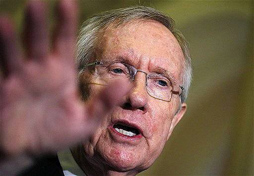 """Senate Majority Leader Harry Reid, D-Nev., recently denounced Republican-friendly billionaires Charles and David Koch, accusing them of trying to """"buy America."""""""