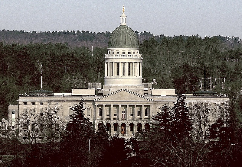 Image result for Maine state house logo