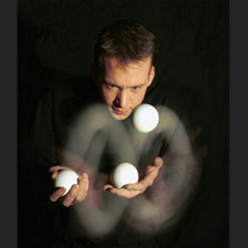 Magician and juggler Scott Jameson will perform at 2:30 p.m. Wednesday in the Rines Auditorium at Portland Public Library.