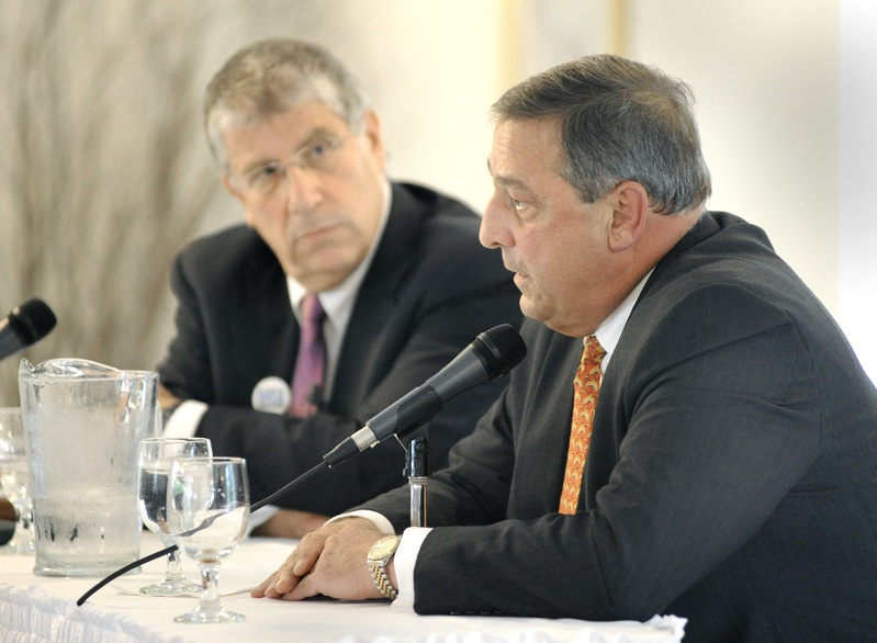 Eliot Cutler and Paul LePage debate issues at the Harraseeket Inn in Freeport during 2010's gubernatorial race. As part of this election year race for governor, Cutler has unveiled a proposal that would shift some of the state tax burden from resident to nonresident property owners. Election 2010 Governor