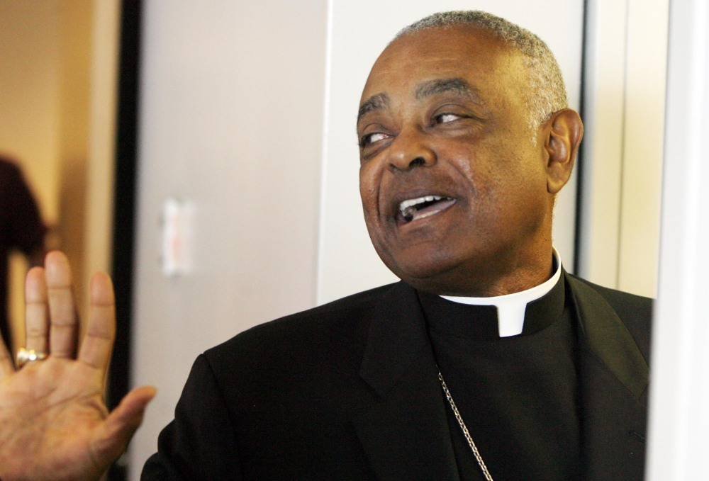 Archbishop Wilton Gregory of Atlanta apologized Monday for building a $2.2 million mansion for himself.