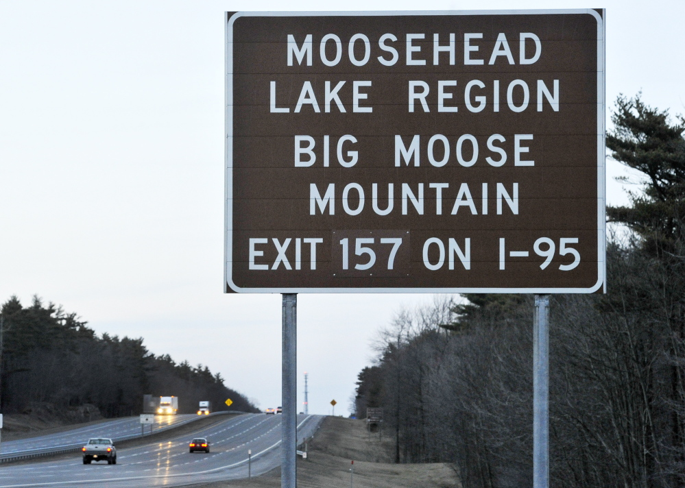 The Legislature is considering a bill that would regulate content and placement of signs on the Maine Turnpike and interstate highways.