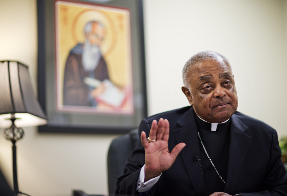 Atlanta Archbishop Wilton Gregory said he will sell a $2.2 million mansion just three months after he moved in – to appease angry parishioners.