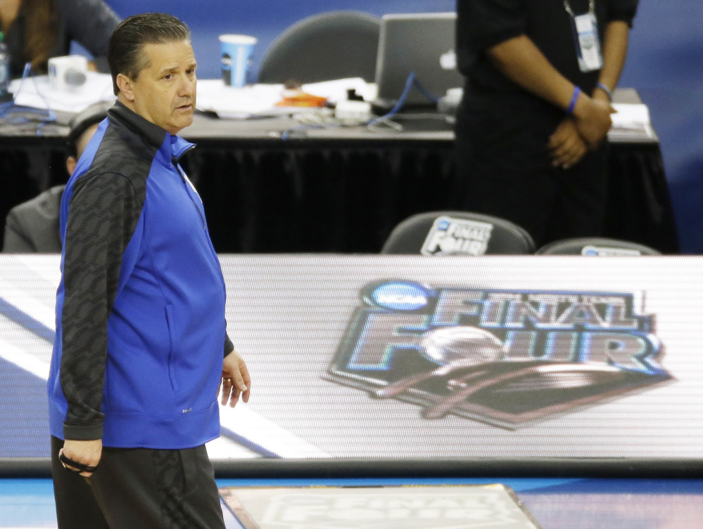 Kentucky Coach John Calipari has five freshmen in his starting lineup, a few of whom are expected to return.