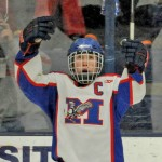 Chase Cunningham and his Messalonskee teammates finally broke through this winter to win their first boys' hockey championship, and did so in impressive fashion with a 21-0 record.