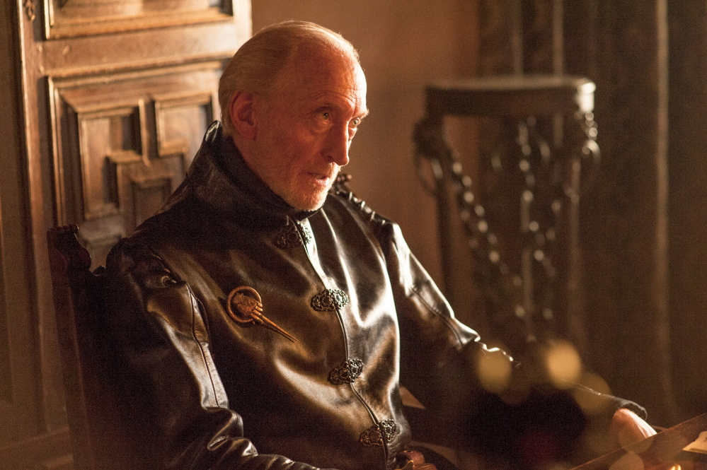 "Charles Dance in a scene from ""Game of Thrones."" Season four of the wildly popular series premieres Sunday on HBO."