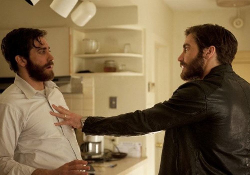 "Jake Gyllenhaal plays two characters who are physical duplicates of one another in ""Enemy."""