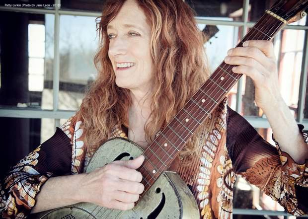 Singer-songwriter Patty Larkin is at the Chocolate Church Arts Center in Bath on Friday.
