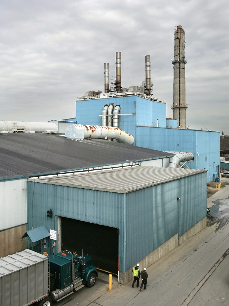 The Maine Energy Recovery Co. trash incinerator in Biddeford sparked complaints about odor, pollution and truck traffic.