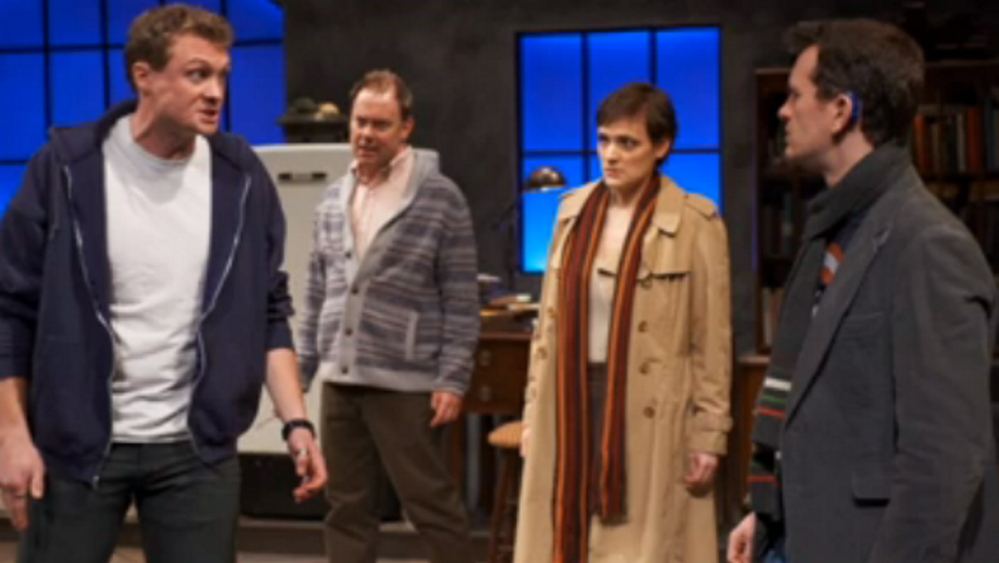 """Tribes"" continues at Portland Stage Company through Sunday."