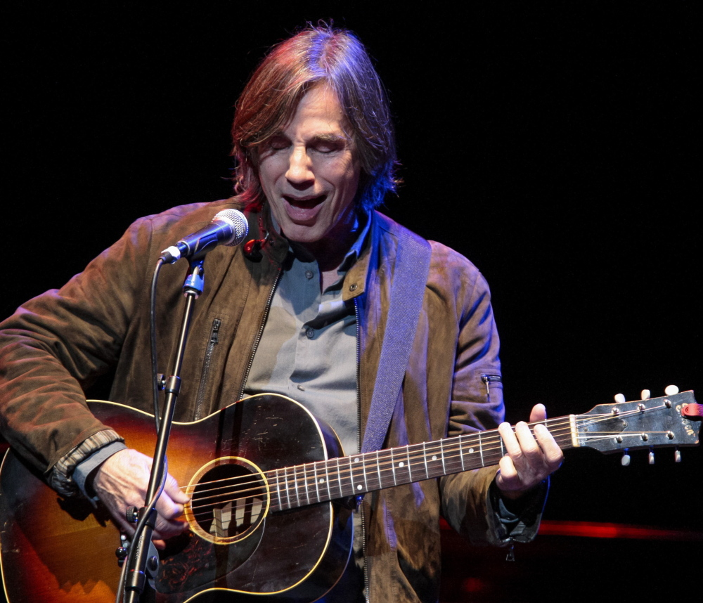 Singer Jackson Browne is at Merrill Auditorium in Portland on Aug. 17. Tickets go on sale Friday.