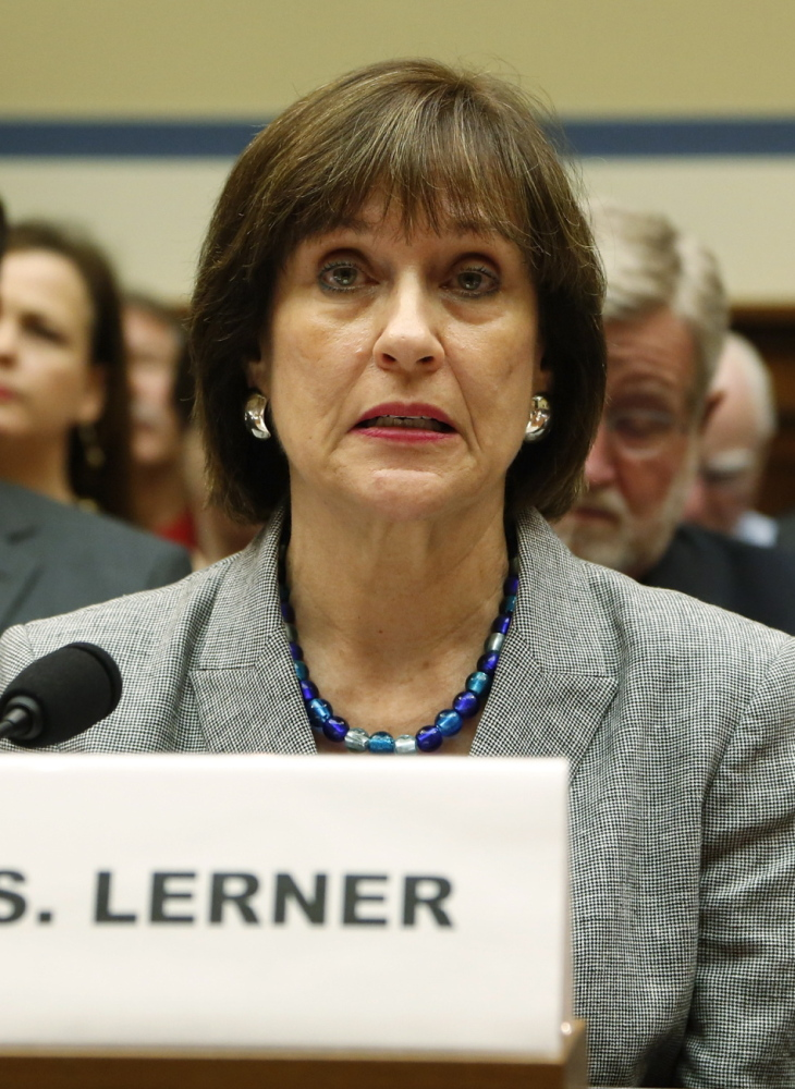 Lois Lerner asserted her Fifth Amendment right against self-incrimination at a House hearing last May.
