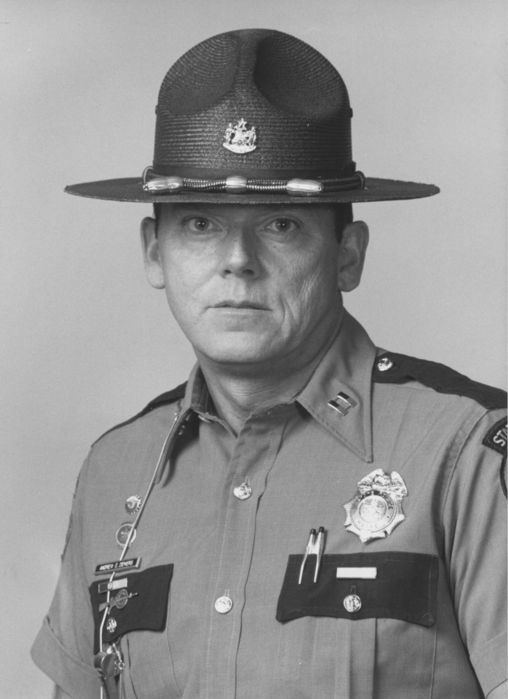 Capt. Andrew Demers, Maine State Police. Published in 1986 and 1987.