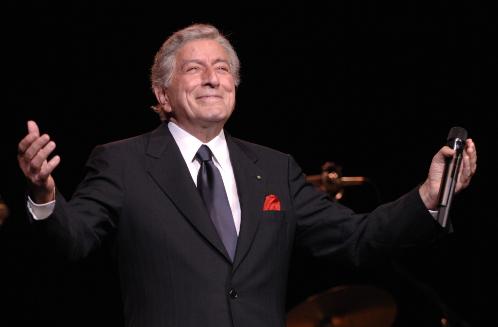 "Tony Bennett will release an album of duets with Lady Gaga later this year called ""Cheek to Cheek."""
